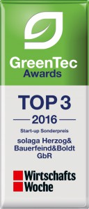 WiWo_GreenTecTOP3_solaga_Herzog&Bauerfeind&Boldt_GbR_2016