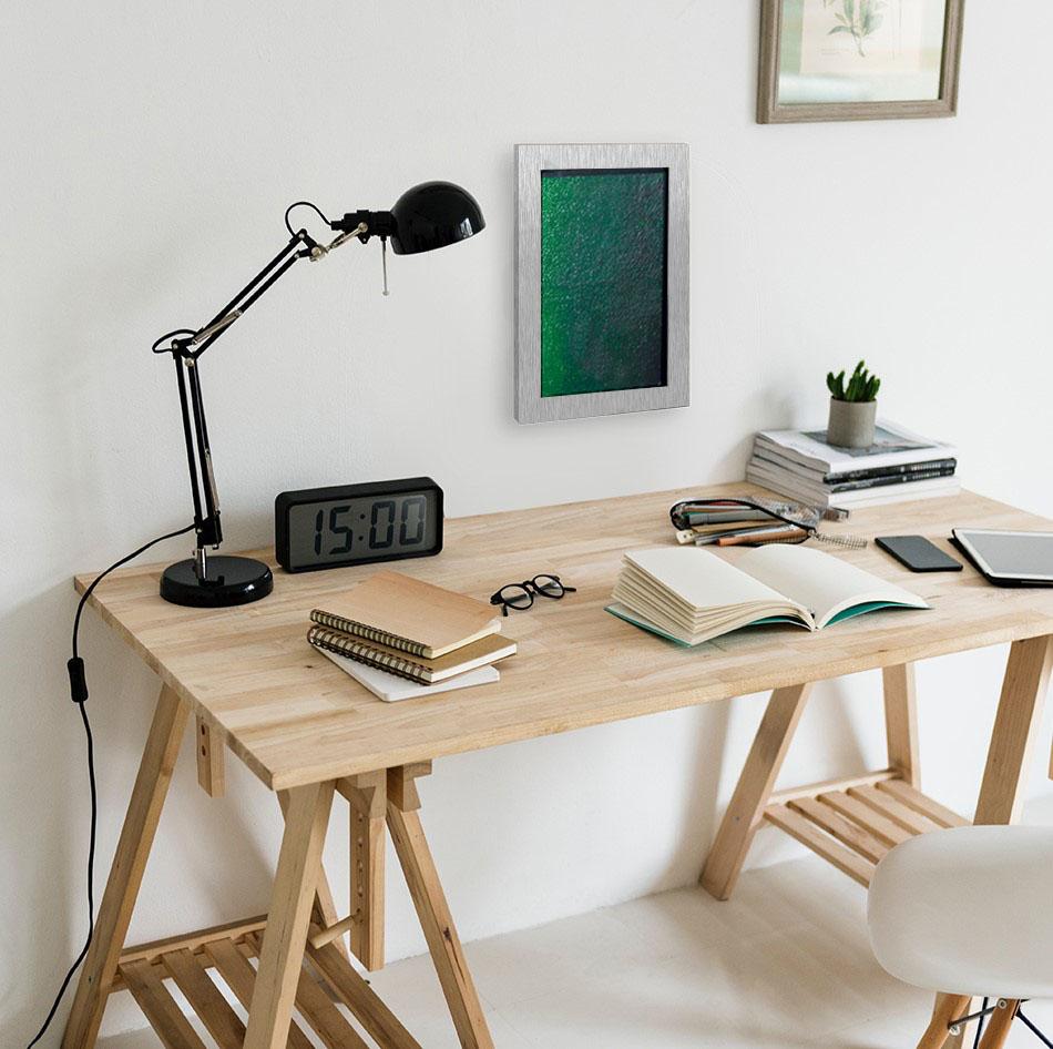 Solaga- Das Algenbild am Schreibtisch