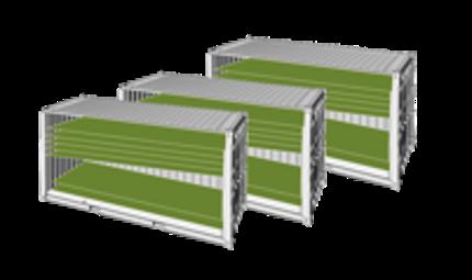Algencontainer solare Biogaspoduktion